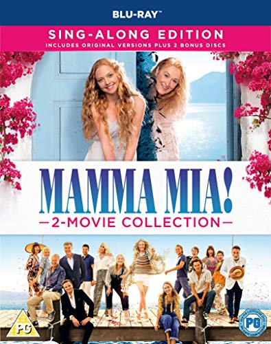 Mamma Mia! 2-Movie Collection (Blu-ray)