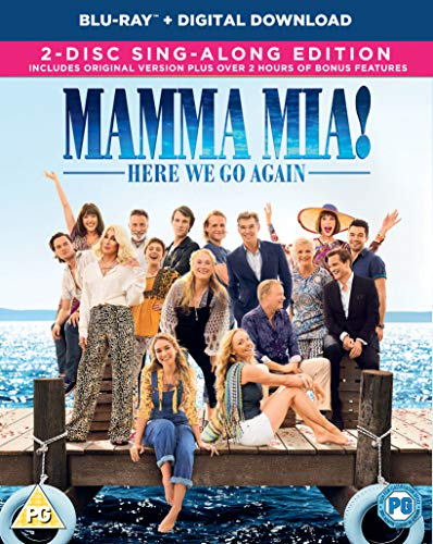 Mamma Mia! Here We Go Again Blu-ray +