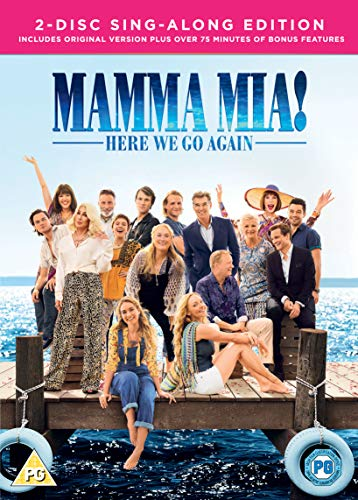 Mamma Mia! Here We Go Again (DVD + Digital Download)