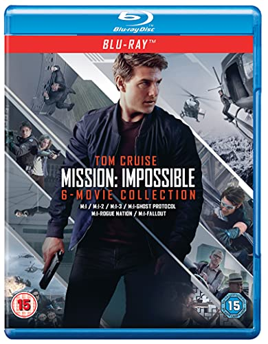 Mission: Impossible - The 6-Movie Collection (Blu-ray + Bonus Disc)