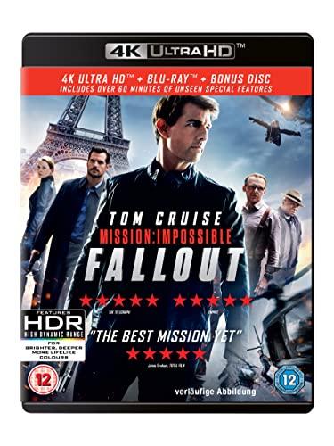 Mission: Impossible - Fallout (4KUHD + Blu-ray + Bonus Disc)