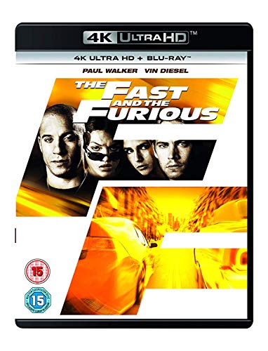 Fast and the Furious, The (4K UHD Blu-Ray)