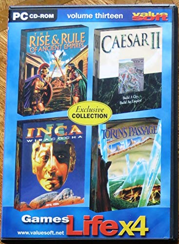 Games Life x 4 - Volume Thirteen - Torin's Passage, Caesar II, Inca and Rise and Rule of Ancient Emp