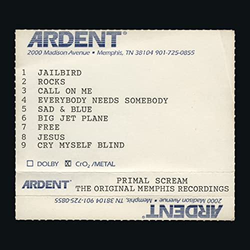Primal Scream - Give Out But Don't Give Up: The Original Memphis Recordings By Primal Scream