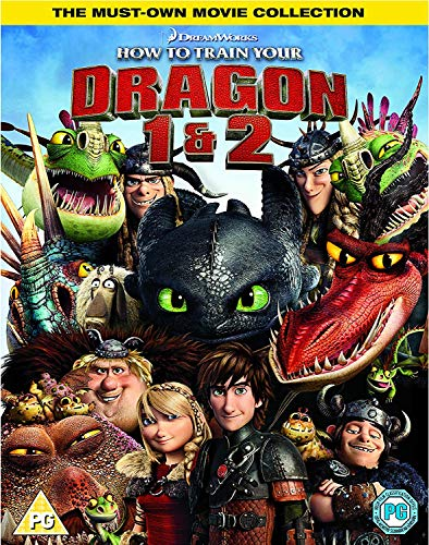 How-To-Train-Your-Dragon-1-amp-2-Box-Set-DVD-2018-CD-SWVG-FREE-Shipping