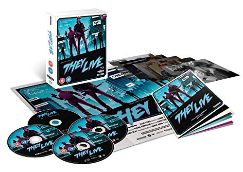 They Live ? Collector?s Edition (4K Ultra HD and Blu-ray)