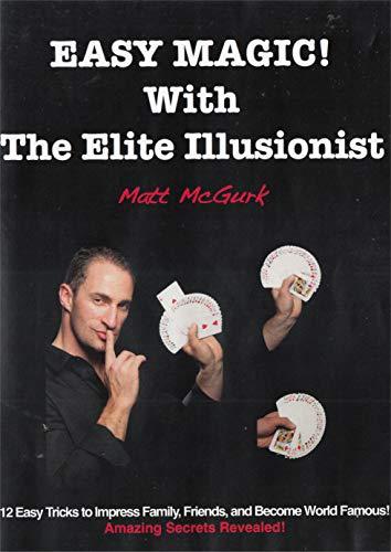 Easy-Magic-With-The-Elite-Illusionist-Matt-McGurk-CD-2FVG-FREE-Shipping