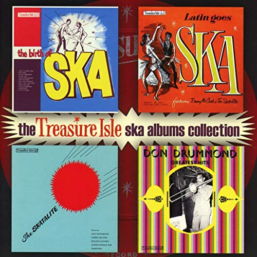 Various Artists - The Treasure Isle Ska Albums Collection By Various Artists