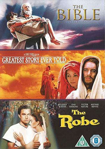The Bible: In the Beginning / The Greatest Story Ever Told / The Robe Triple Pack