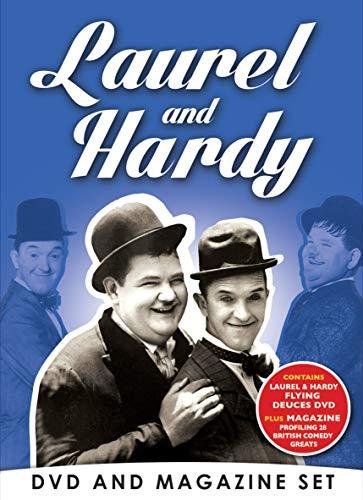 Laurel & Hardy Flying Deuces DVD Bookazine Gift Set British Comedy Greats