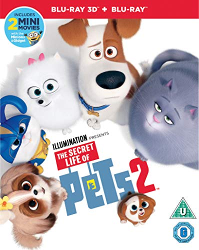 The Secret Life of Pets 2 (3D+Blu-ray)