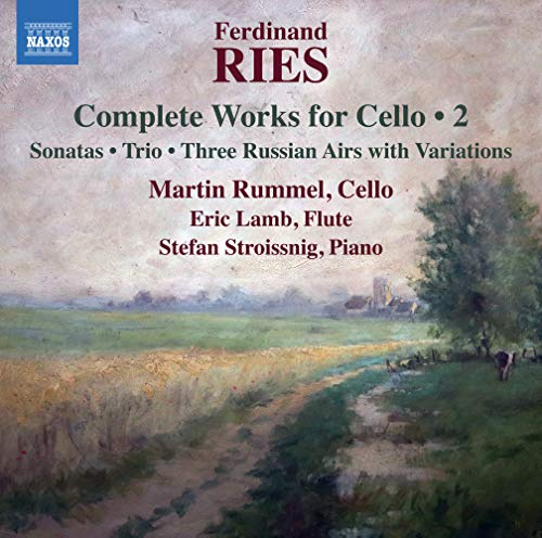 Eric Lamb - Ries: Cello Works, Vol. 2 By Eric Lamb