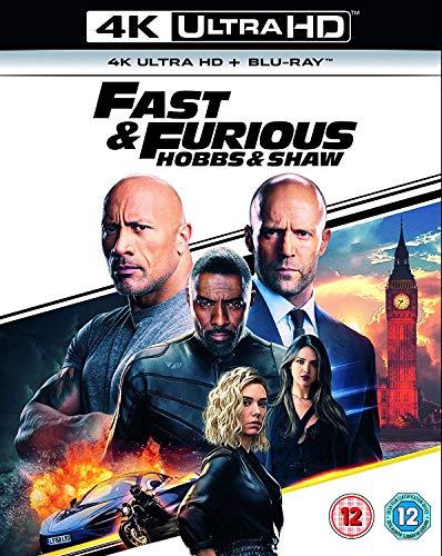 Fast & Furious Presents Hobbs & Shaw (4K Ultra HD + Blu-ray)