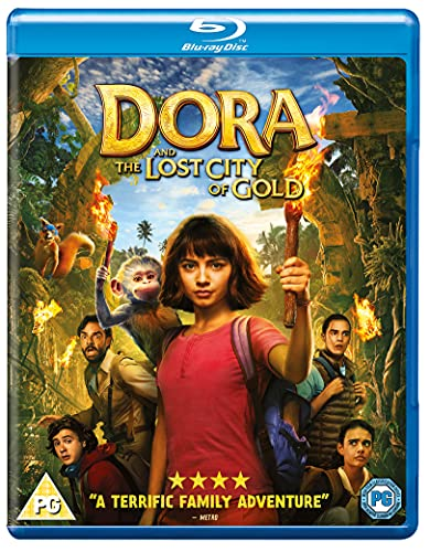 Dora And The Lost City of Gold - Dora The Explorer  (Blu-ray)