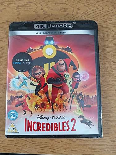 Disney Pixar Incredibles 2 4K Ultra HD Blu-Ray