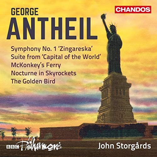 BBC Philharmonic - Antheil: Orchestral Works 3  [Chandos: CHAN 200 By BBC Philharmonic