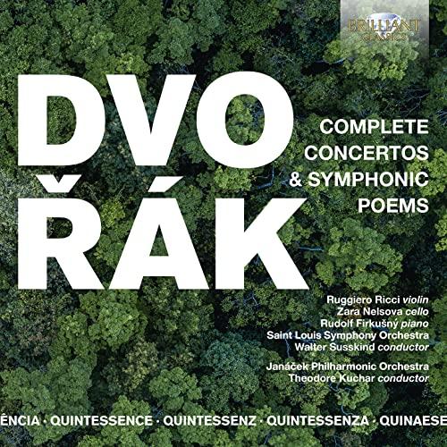 Various Artists - QUINTESSENCE: Dvorak: Complete Concertos & Symphonic Poems