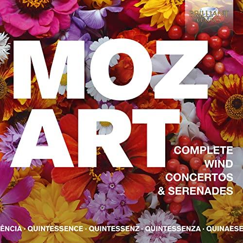 Various Artists - QUINTESSENCE: Mozart: Complete Wind Concertos & Serenades