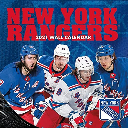 New York Rangers 2021 12x12 Team Wall Calendar By Lang Companies