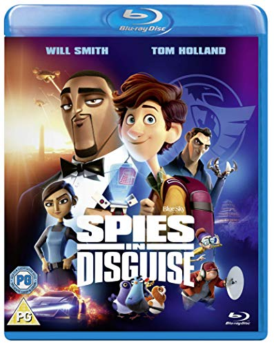 Spies in Disguise Blu-ray