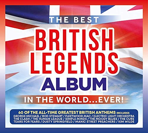 Various Artists - The Best British Legends Album In The World... Ever! By Various Artists