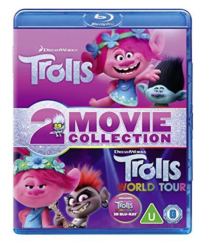 Trolls & Trolls World Tour Double Pack (2D +3D Blu-ray)