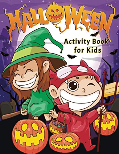 Halloween Activity Book for Kids By Pamparam Press