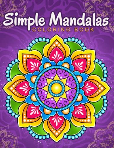 Simple Mandalas By Coloring Book Kim