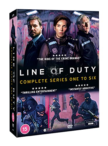 Line of Duty - Series 1-6 Complete Box Set