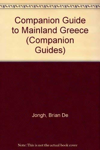 Companion Guide to Mainland Greece by Brian De Jongh