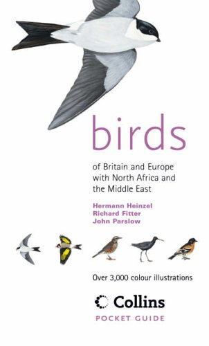 Birds of Britain and Europe with North Africa and the Middle East by Hermann Heinzel