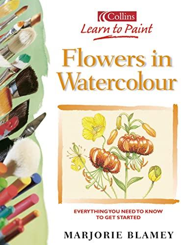 Flowers in Watercolour by Marjorie Blamey