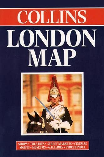 Collins London Map by Bartholomew