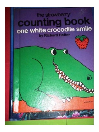 One White Crocodile Smile by Richard Hefter