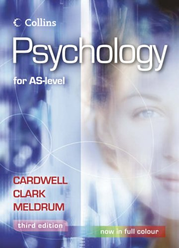 Psychology for AS-Level by Mike Cardwell