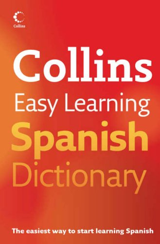 Collins Easy Learning Spanish Dictionary by