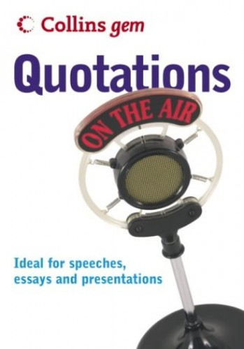 Quotations (Collins Gem) by