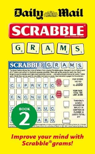 "Collins ""Daily Mail"" Scrabble Grams: Puzzle Book: Bk. 2 by"