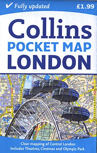 London Pocket Map by Collins Maps