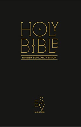Holy Bible: English Standard Version (Esv) Anglicised Black Gift and Award Edition by Collins Anglicised ESV Bibles