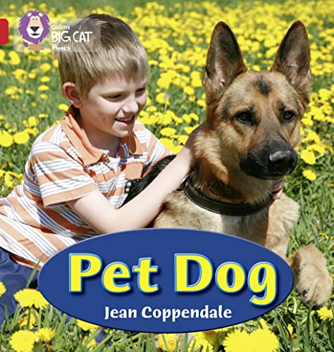 Pet Dog: Band 02A/Red A by Jean Coppendale