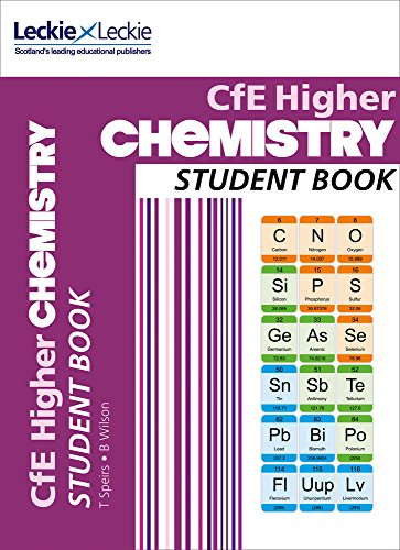 CFE Higher Chemistry Student Book by Tom Speirs