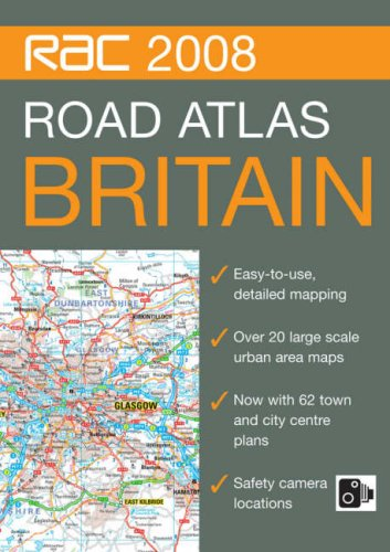 RAC Road Atlas Britain (RAC Atlases)