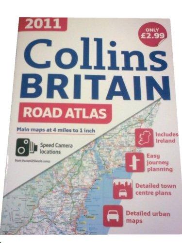 2011 Collins Road Atlas Britain by