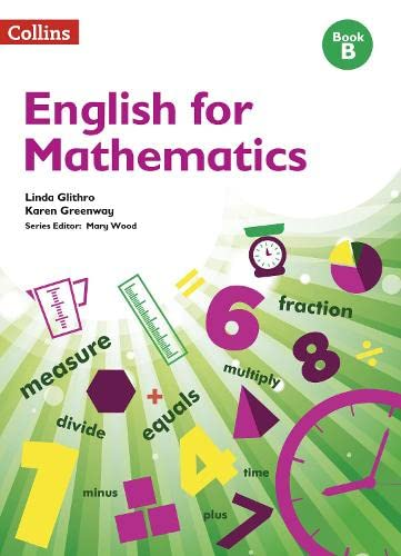 English for Mathematics: Book B: Level 2 by Linda Glithro