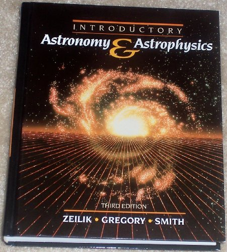 Introductory Astronomy and Astrophysics by Elske V.P. Smith