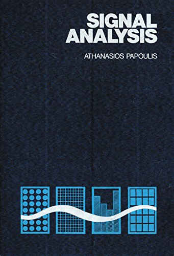 Signal Analysis by Athanasios Papoulis