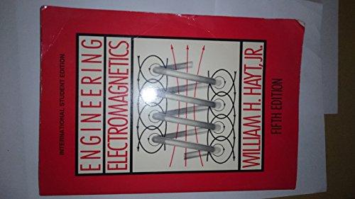 Engineering Electromagnetics by William H. Hayt