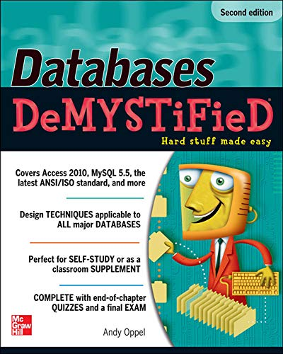 Databases DeMYSTiFieD by Andy Oppel