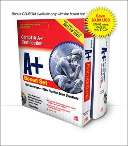 CompTIA A+ Certification Boxed Set (Exams 220-701 & 220-702) by Jane Holcombe